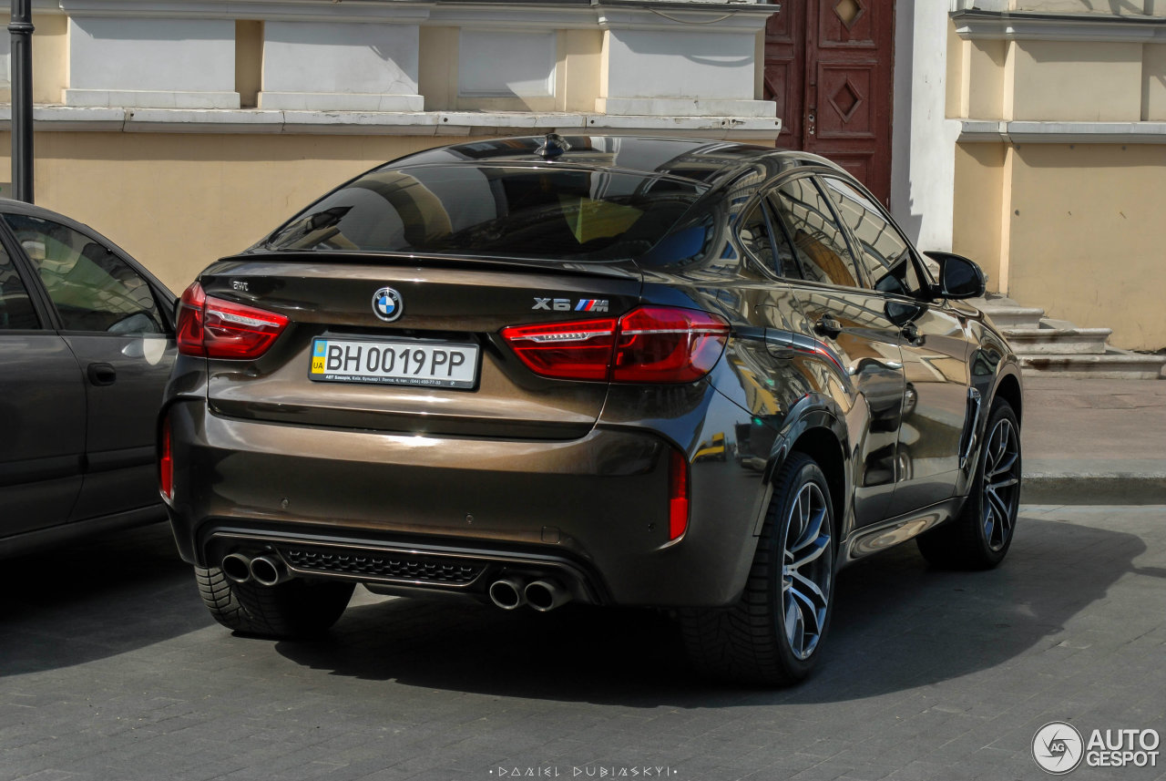 bmw x6 m f86 1 april 2016 autogespot. Black Bedroom Furniture Sets. Home Design Ideas