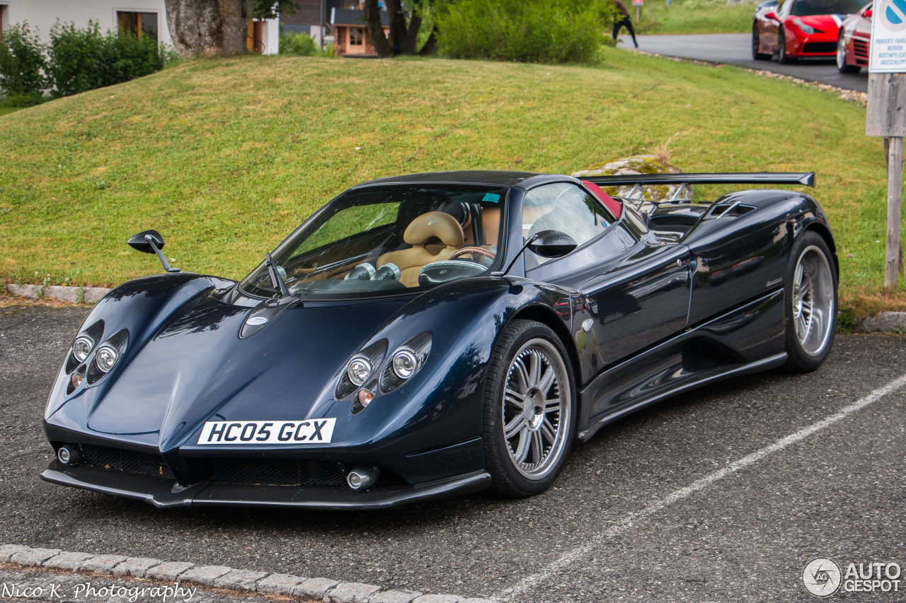 pagani zonda c12 f roadster 1 april 2016 autogespot. Black Bedroom Furniture Sets. Home Design Ideas