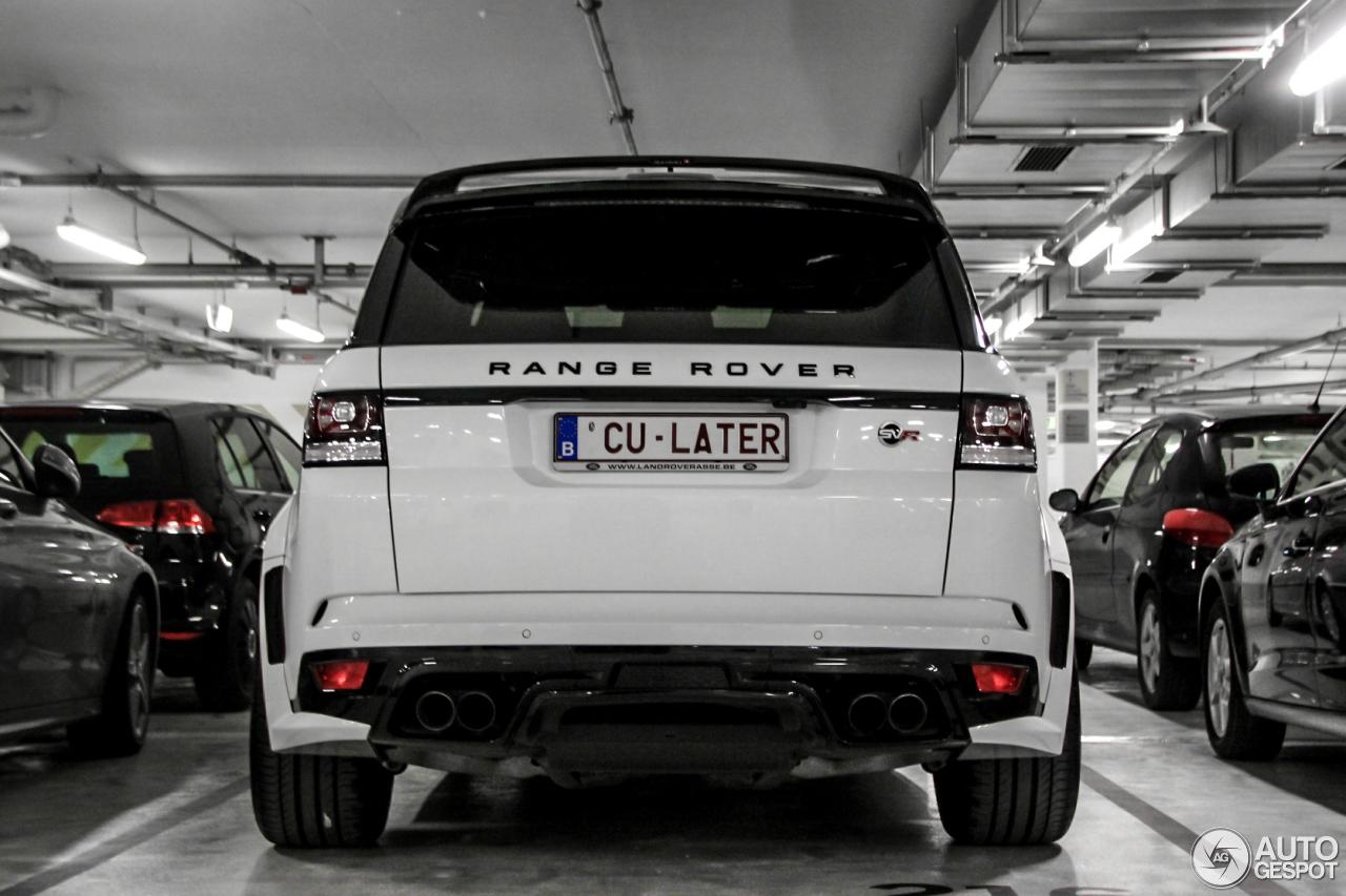 Land Rover Mansory Range Rover Sport Svr 2 April 2016