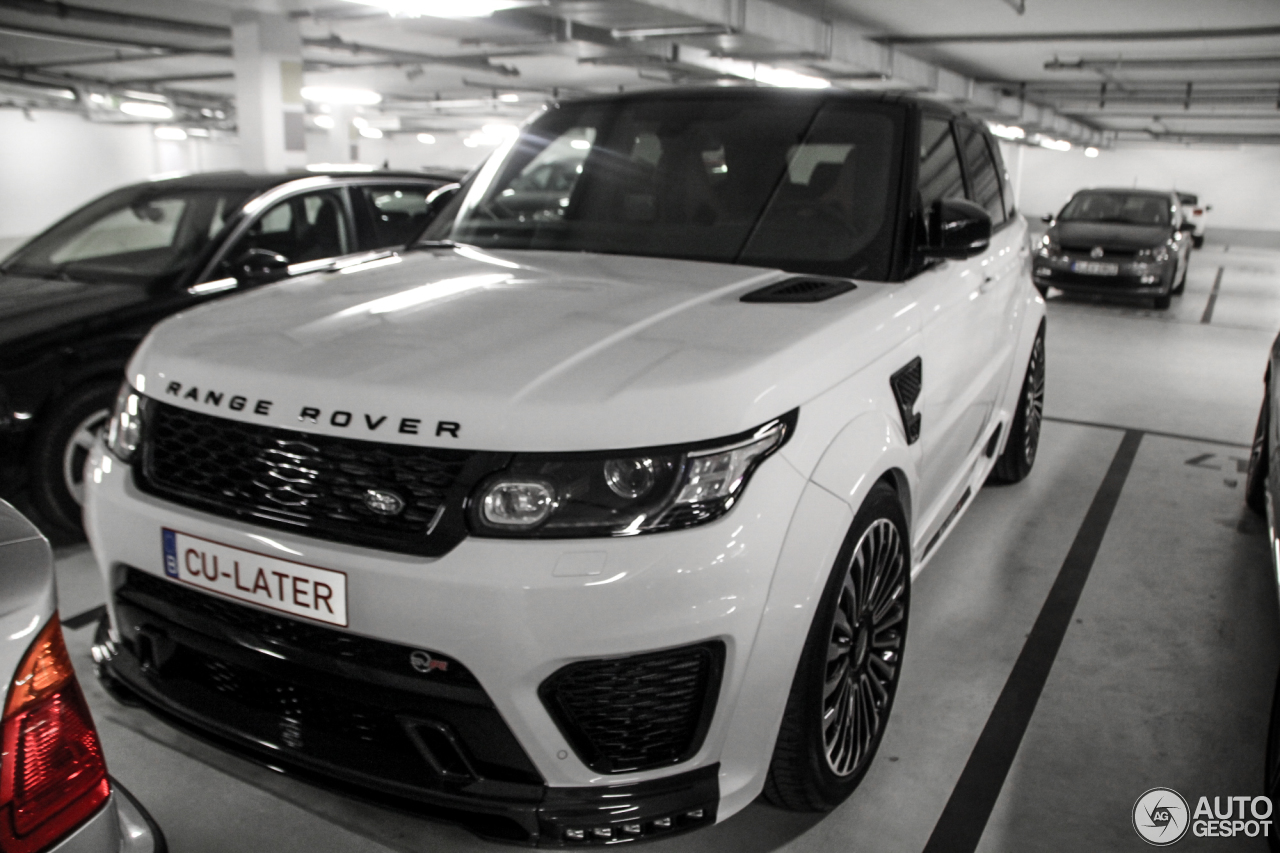 land rover mansory range rover sport svr 2 avril 2016 autogespot. Black Bedroom Furniture Sets. Home Design Ideas
