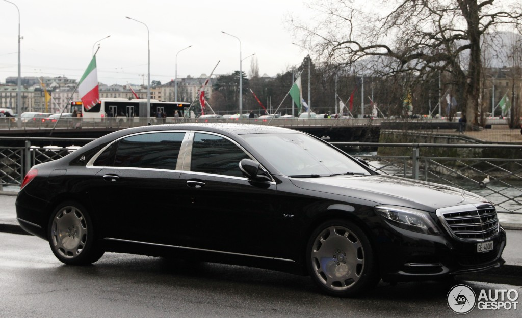 Mercedes maybach s600 2 april 2016 autogespot for 2006 mercedes benz s600 for sale