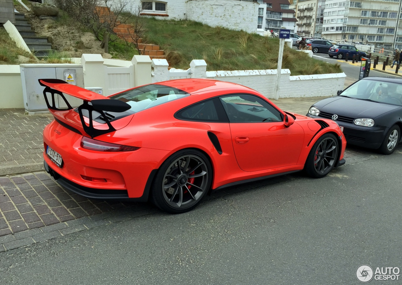 porsche 991 gt3 rs 2 avril 2016 autogespot. Black Bedroom Furniture Sets. Home Design Ideas