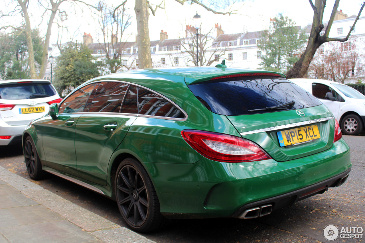mercedes benz cls 63 amg s x218 shooting brake 2015 3 april 2016 autogespot. Black Bedroom Furniture Sets. Home Design Ideas