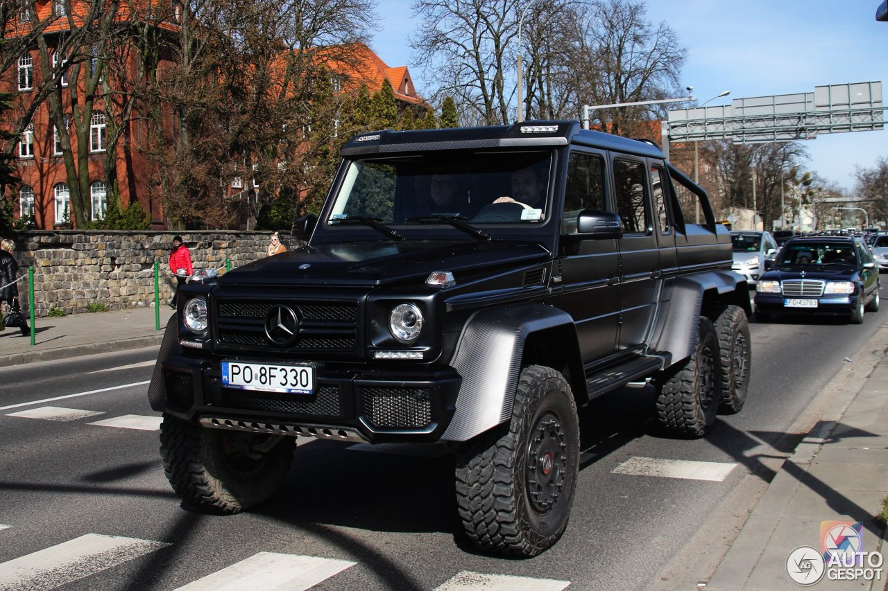 Mercedes benz g 63 amg 6x6 3 april 2016 autogespot for Mercedes benz g wagon 6x6