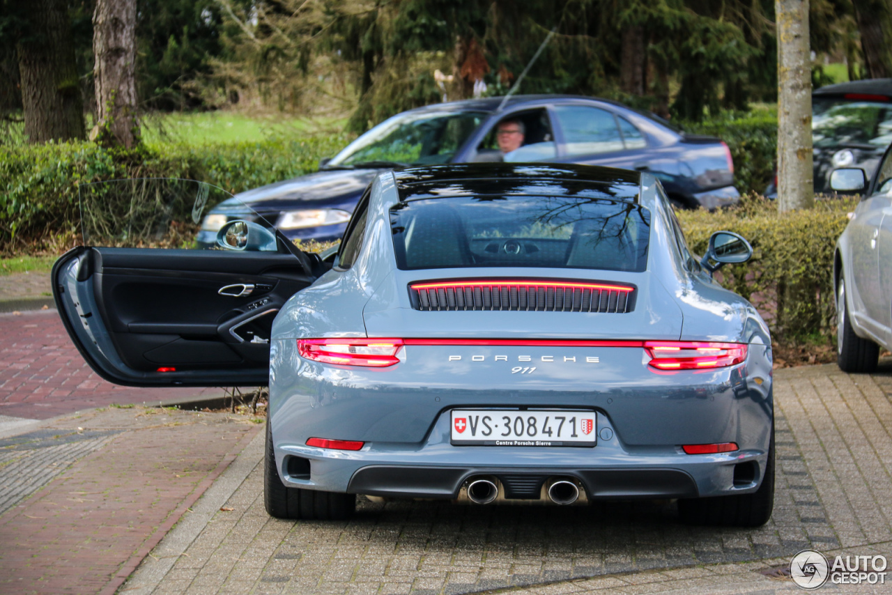 porsche 991 carrera 4s mkii 3 april 2016 autogespot. Black Bedroom Furniture Sets. Home Design Ideas