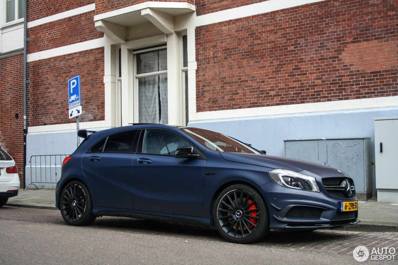 Mercedes benz a 45 amg 4 april 2016 autogespot for Mercedes benz a 45 amg 4matic
