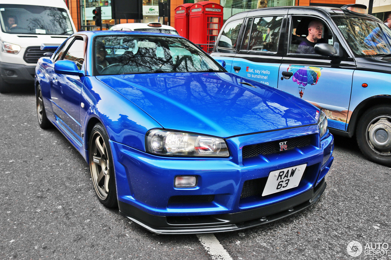 Nissan Skyline R34 Gt R V Spec 4 April 2016 Autogespot