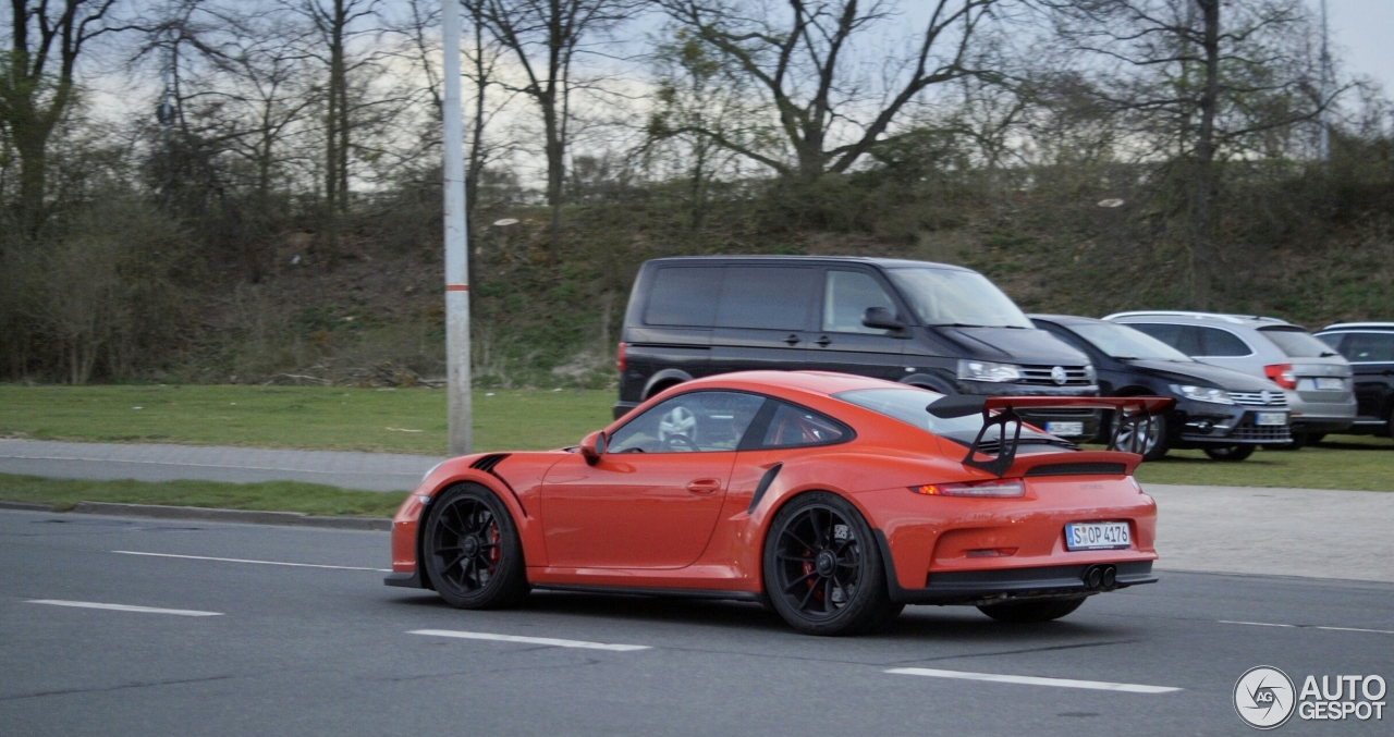 porsche 991 gt3 rs 4 avril 2016 autogespot. Black Bedroom Furniture Sets. Home Design Ideas