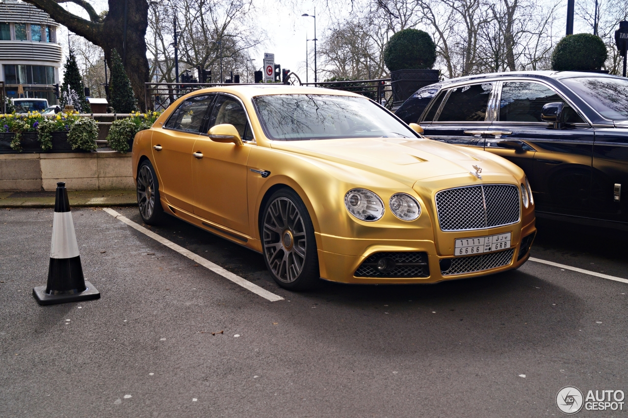 Bentley Mansory Flying Spur W12 5 April 2016 Autogespot