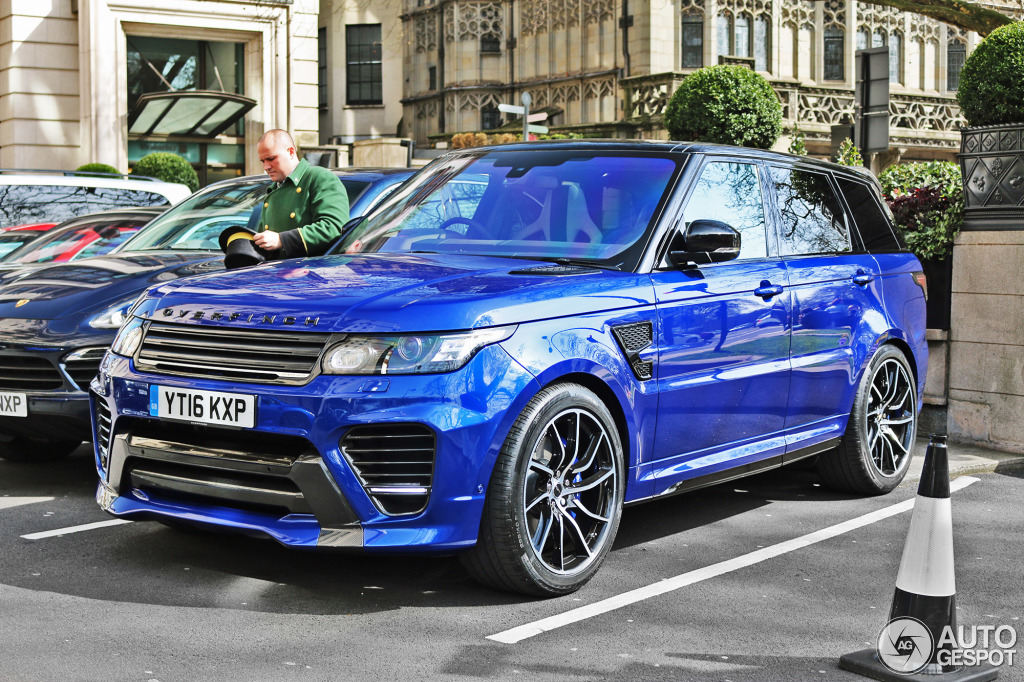 land rover overfinch range rover sport supercharged 2014 5 kwiecie 2016 autogespot. Black Bedroom Furniture Sets. Home Design Ideas