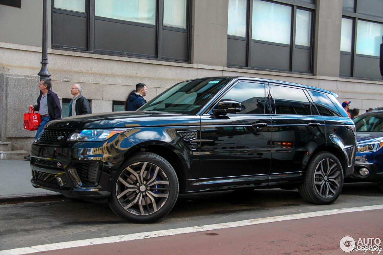 Manhattan Land Rover >> Land Rover Range Rover Sport SVR - 5 April 2016 - Autogespot