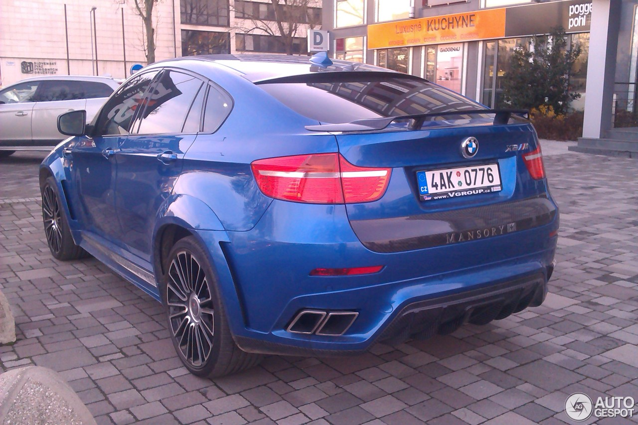 Bmw Mansory X6 M 6 April 2016 Autogespot