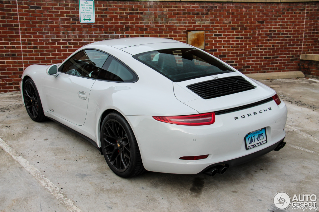 porsche 991 carrera gts 6 april 2016 autogespot. Black Bedroom Furniture Sets. Home Design Ideas