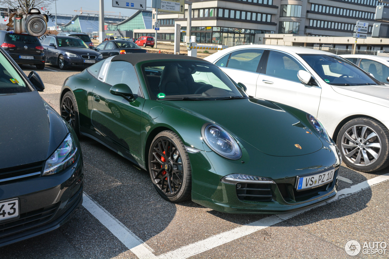 porsche 991 targa 4 gts 6 april 2016 autogespot. Black Bedroom Furniture Sets. Home Design Ideas