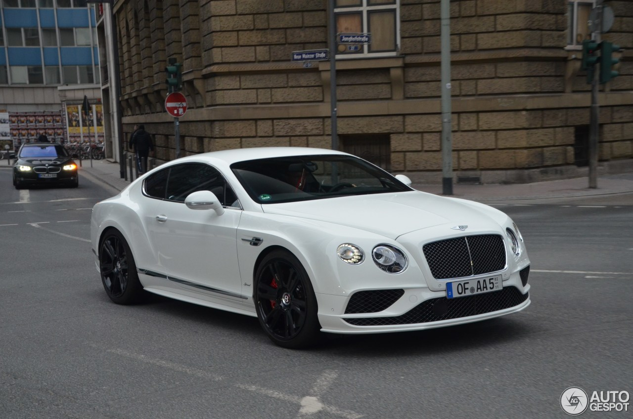 bentley continental gt speed 2016 7 april 2016 autogespot. Black Bedroom Furniture Sets. Home Design Ideas