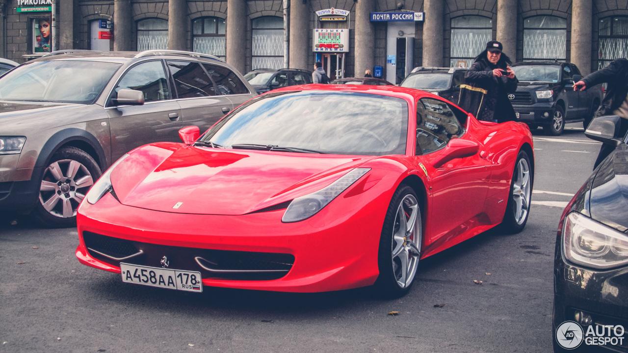 2016 ferrari 458 italia - photo #47