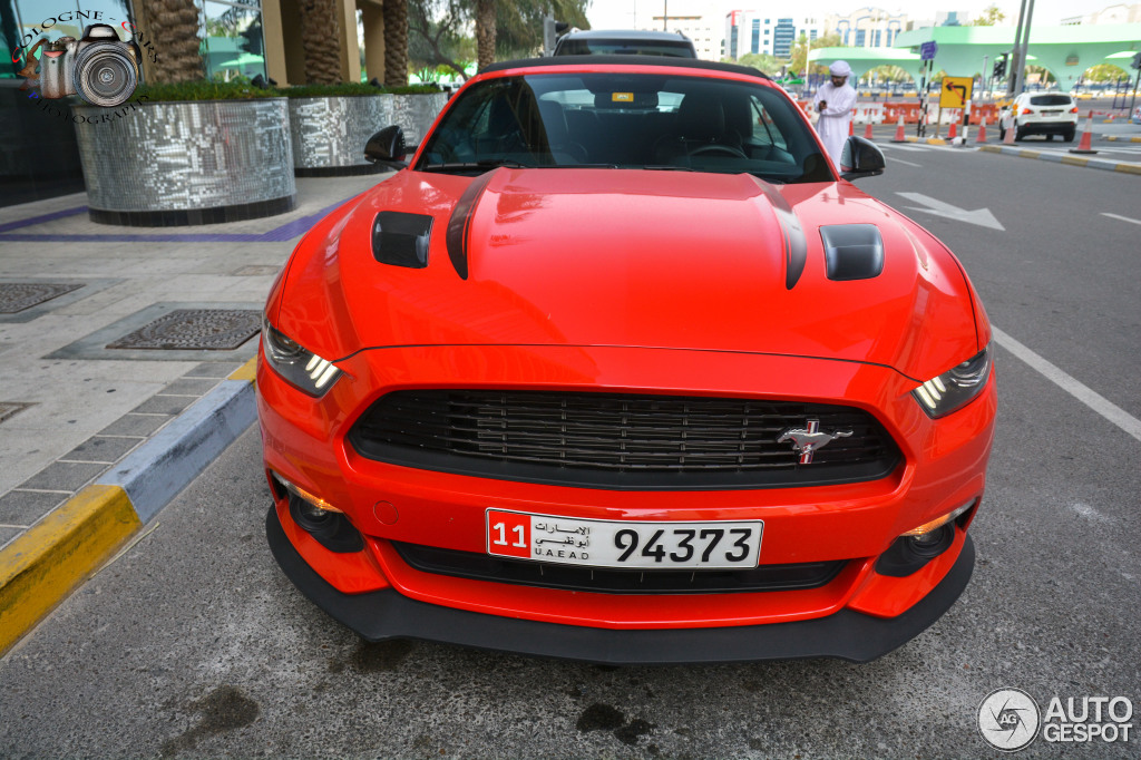 Ford Mustang Gt California Special Convertible 2016 10