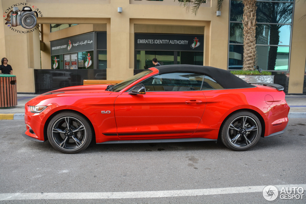ford mustang gt california special convertible 2016 10 april 2016 autogespot. Black Bedroom Furniture Sets. Home Design Ideas