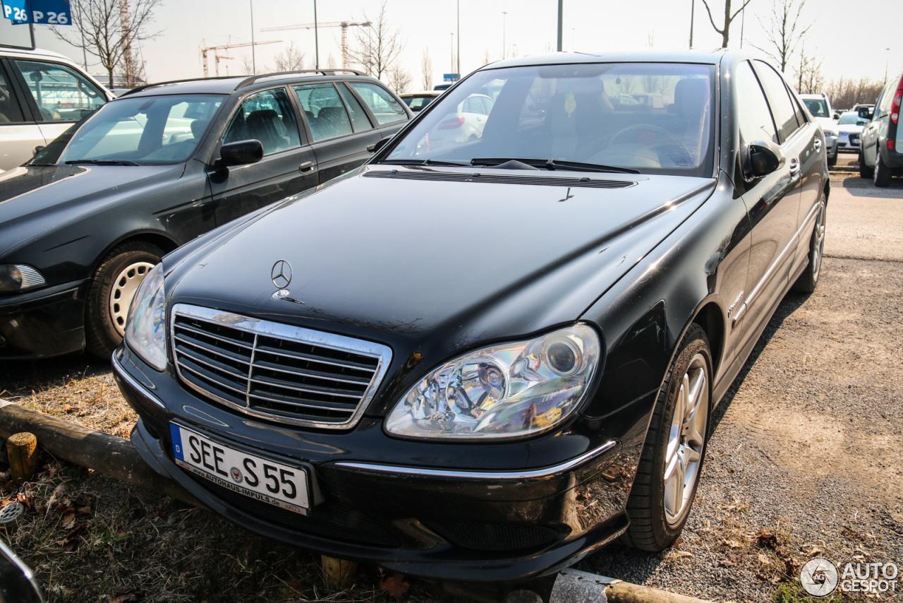 Mercedes benz s 55 amg w220 10 april 2016 autogespot for Mercedes benz s 55