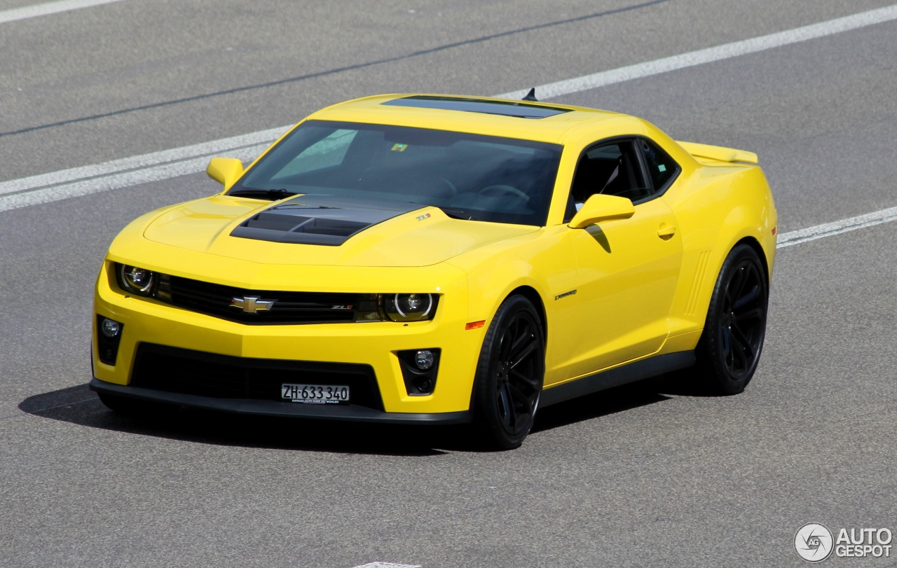 Chevrolet Camaro Zl1 2014 11 April 2016 Autogespot