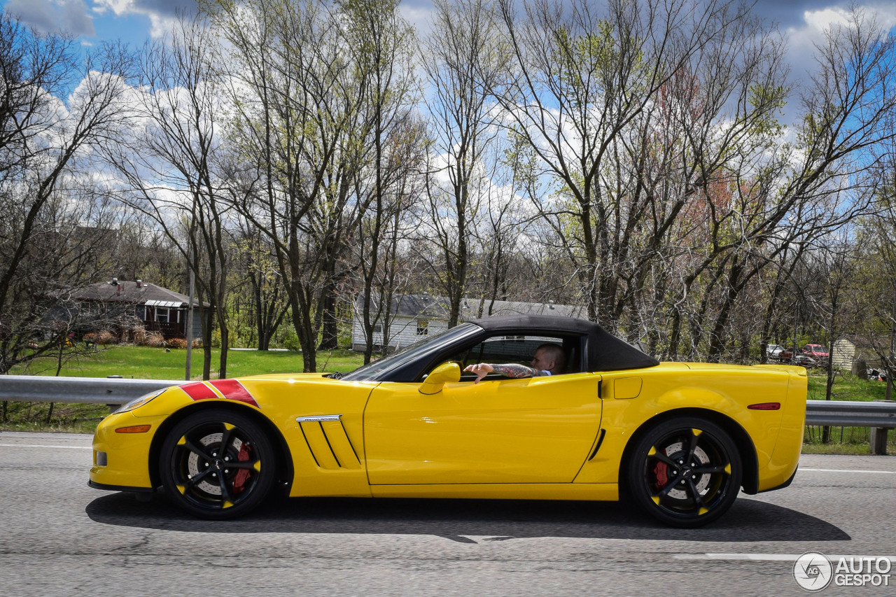 Chevrolet Corvette C6 Grand Sport Convertible 11 April