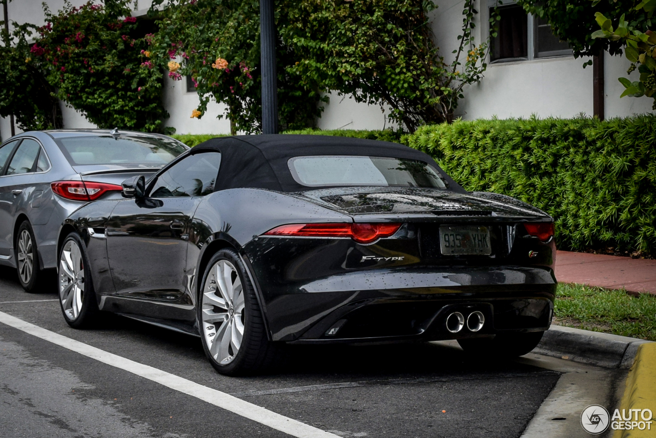 Jaguar F Type S Convertible 13 April 2016 Autogespot