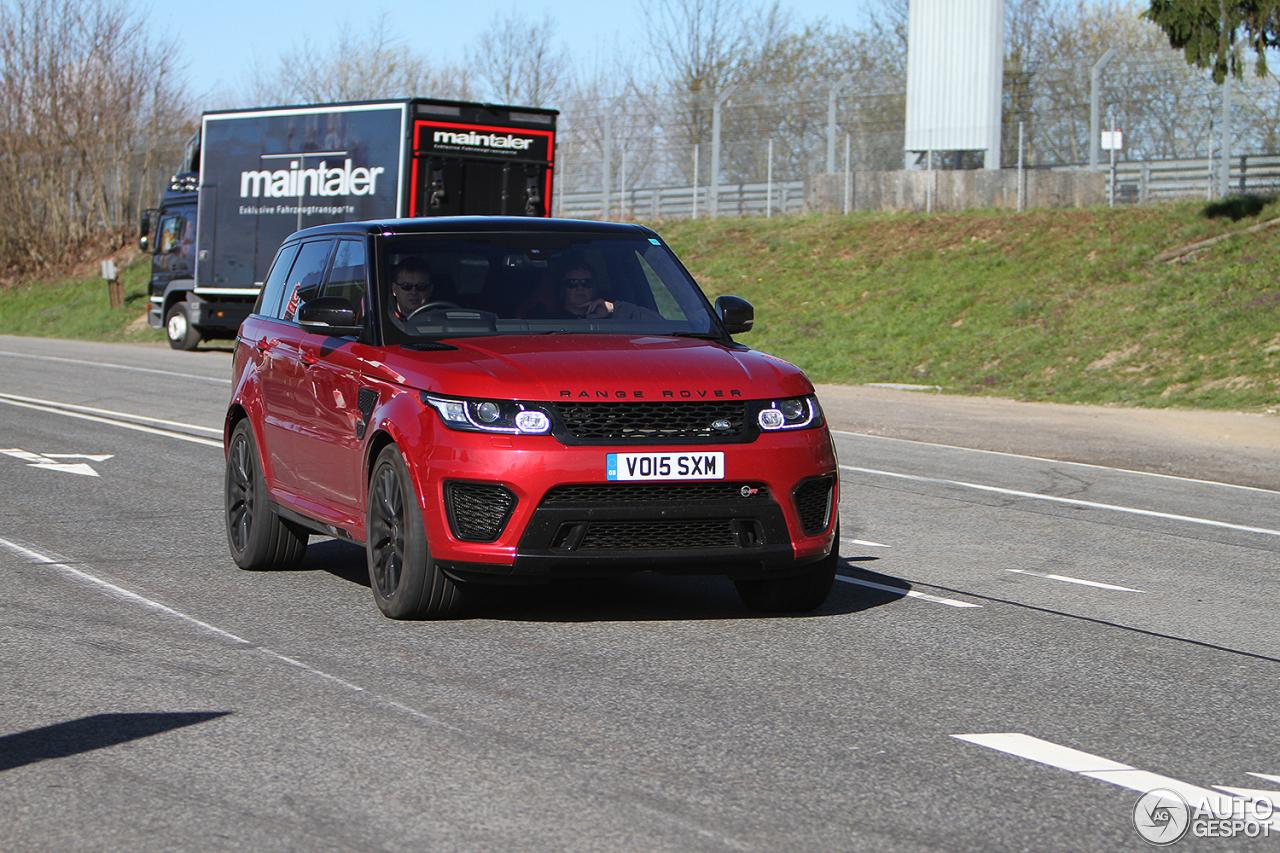 Range Rover Svr For Sale >> Land Rover Range Rover Sport SVR - 13 April 2016 - Autogespot