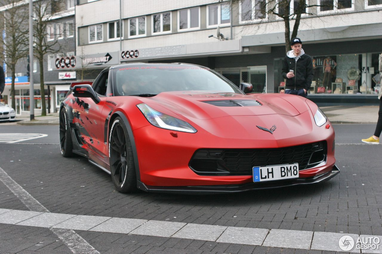 chevrolet corvette c7 z06 bbm motorsport 15 avril 2016 autogespot. Black Bedroom Furniture Sets. Home Design Ideas