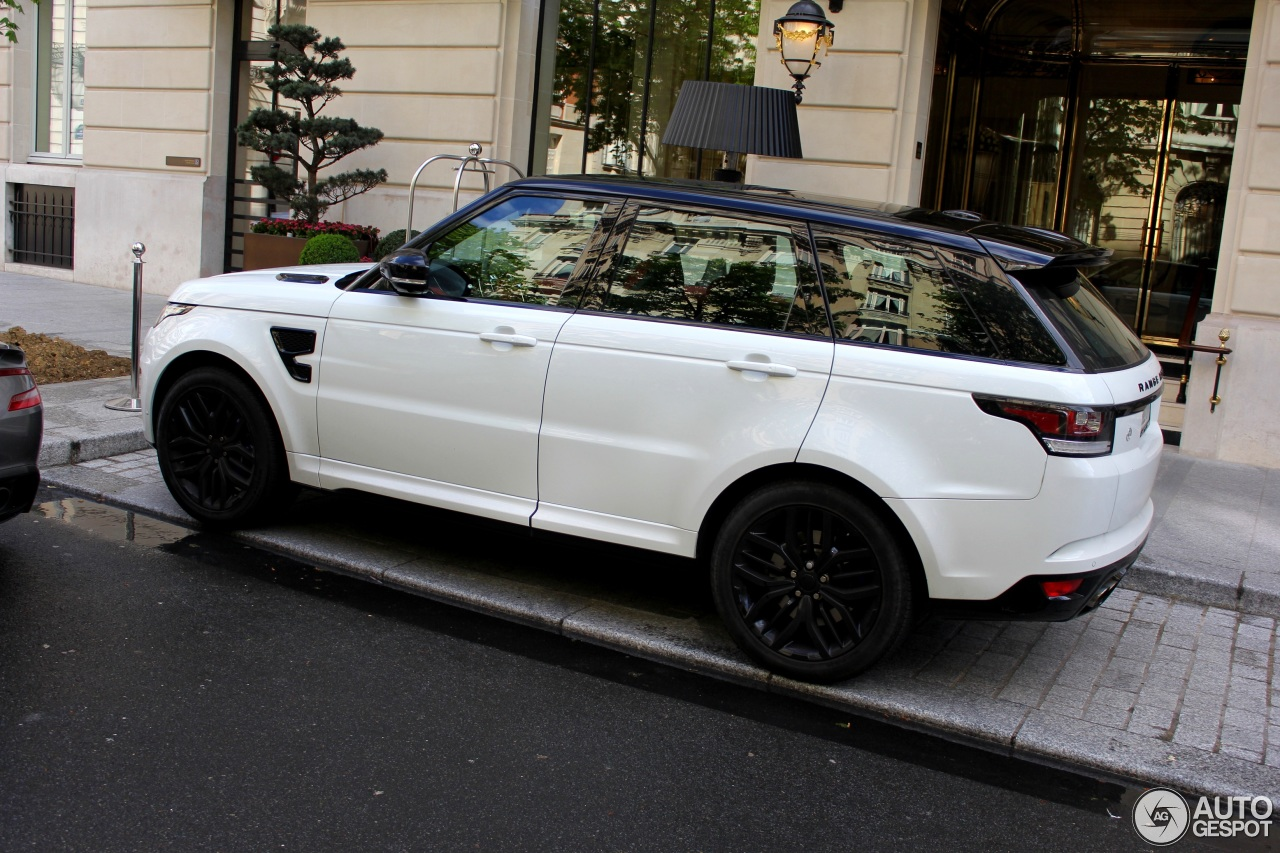 land rover range rover sport svr 16 april 2016 autogespot. Black Bedroom Furniture Sets. Home Design Ideas