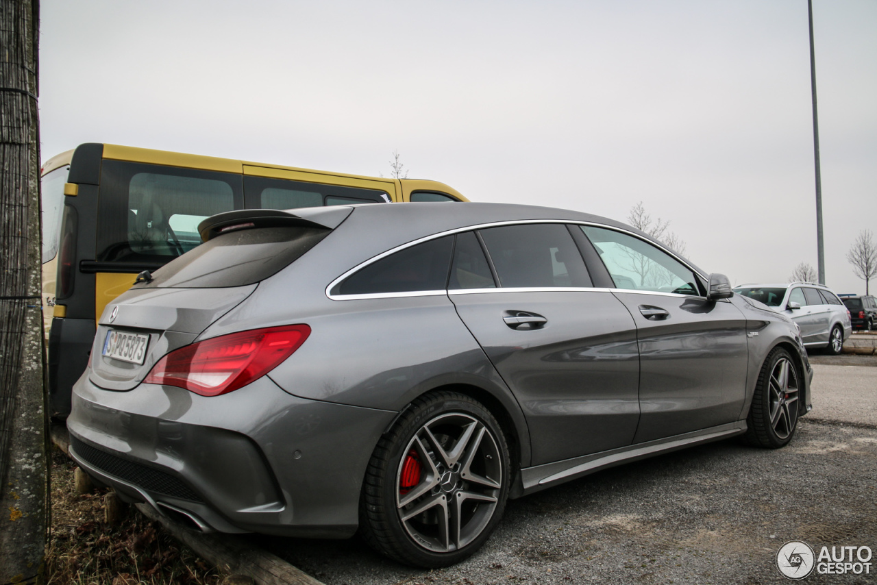 mercedes benz cla 45 amg shooting brake 16 april 2016. Black Bedroom Furniture Sets. Home Design Ideas