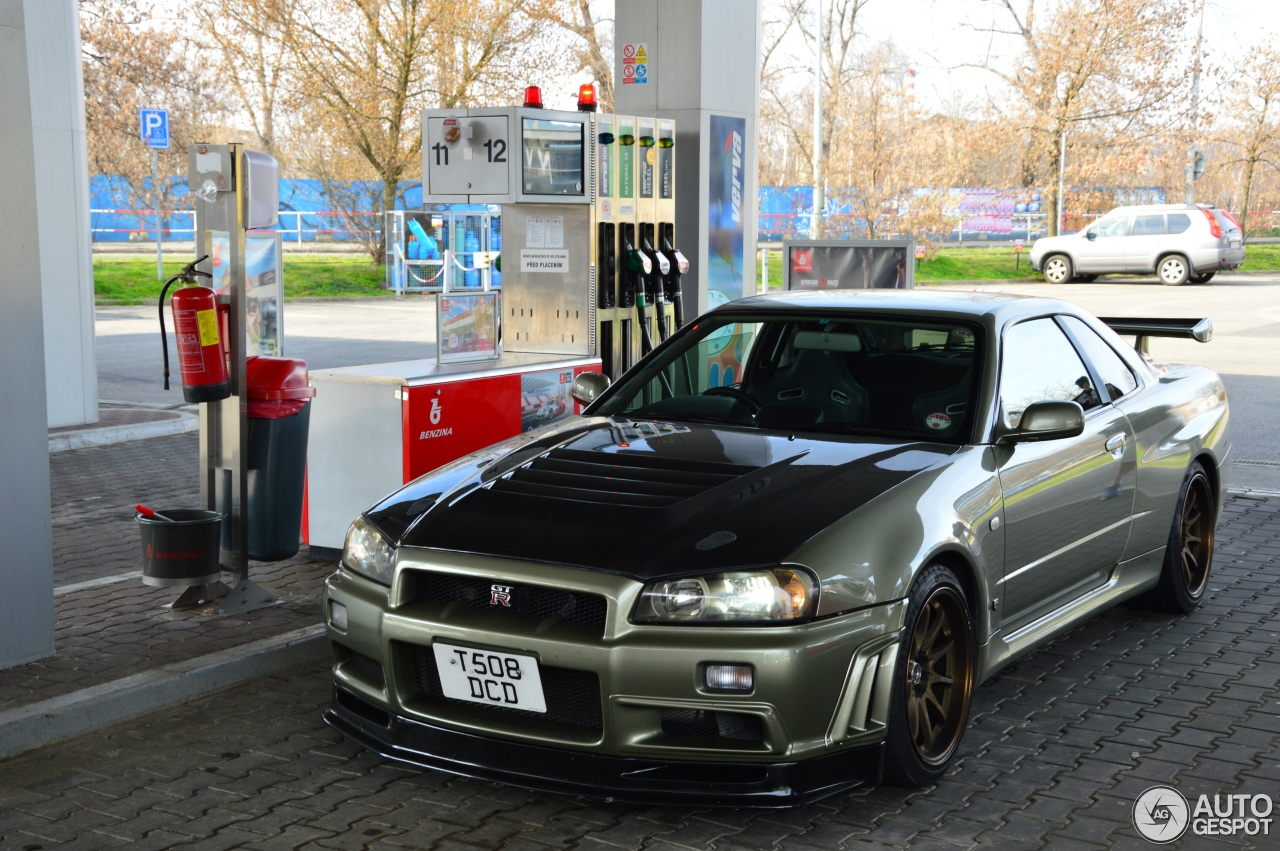 Nissan Skyline R34 Gt R V Spec Ii N 252 R 16 April 2016