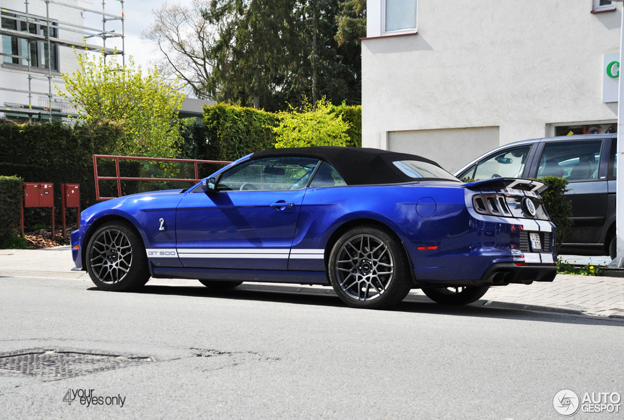ford mustang shelby gt500 convertible 2014 17 april 2016. Black Bedroom Furniture Sets. Home Design Ideas