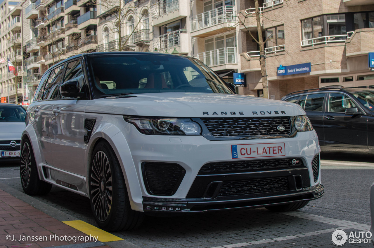 Land Rover Mansory Range Rover Sport Svr 17 April 2016