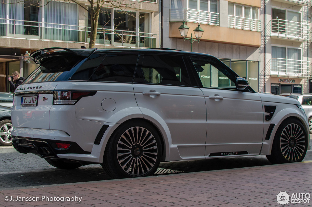Land Rover Mansory Range Rover Sport Svr 17 April 2016