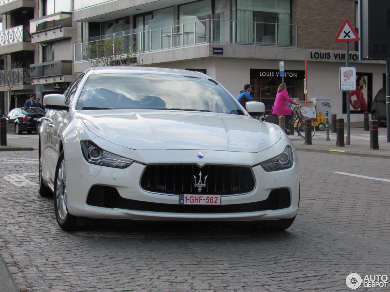 Maserati Ghibli 2013 17 aprile 2016 Autogespot