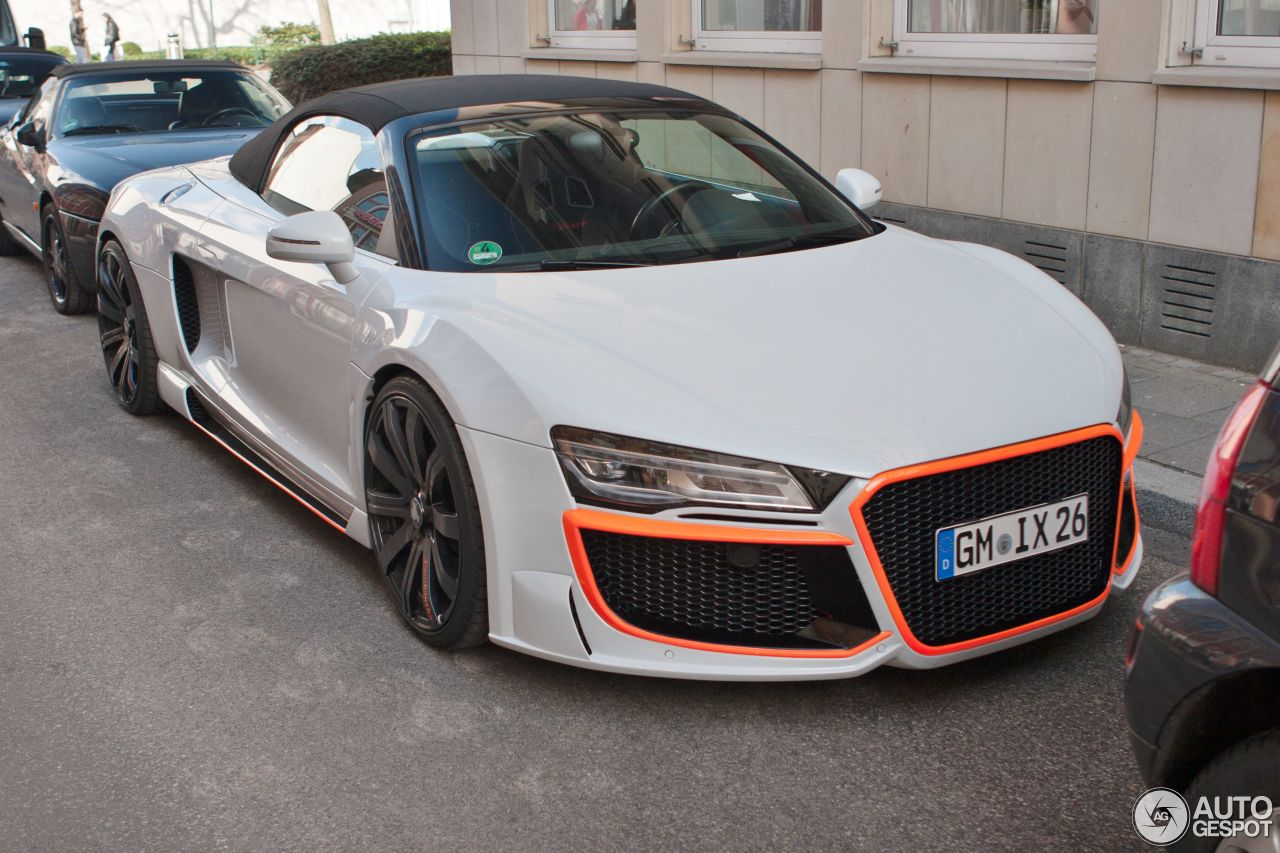 Audi R8 V10 Spyder Regula Tuning 18 Avril 2016 Autogespot