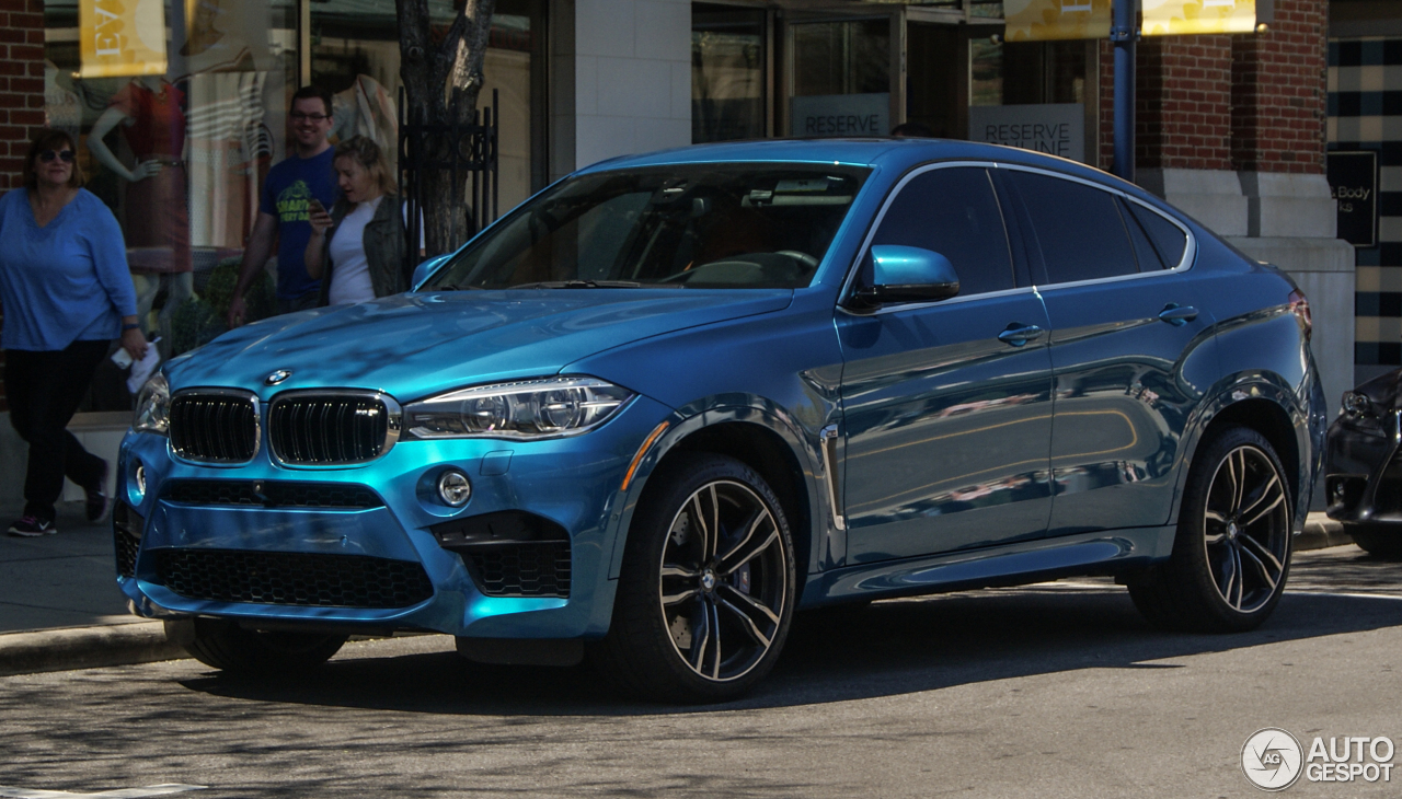 BMW X6 M F86 - 18 April 2016 - Autogespot