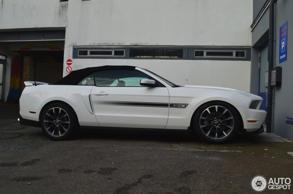 Ford Mustang Gt California Special Convertible 2012 19