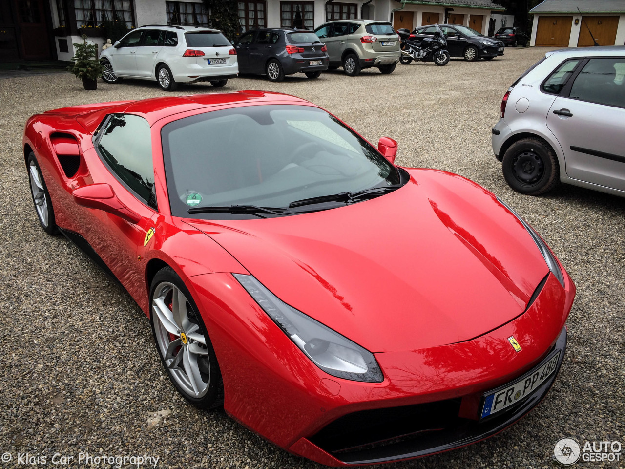 ferrari 488 spider 20 april 2016 autogespot. Black Bedroom Furniture Sets. Home Design Ideas
