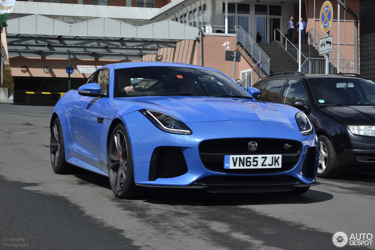 jaguar f type svr coup 20 april 2016 autogespot. Black Bedroom Furniture Sets. Home Design Ideas