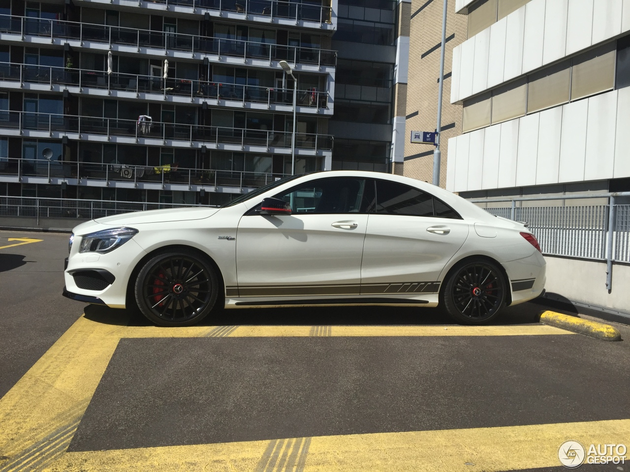 mercedes benz cla 45 amg edition 1 c117 20 april 2016 autogespot. Cars Review. Best American Auto & Cars Review