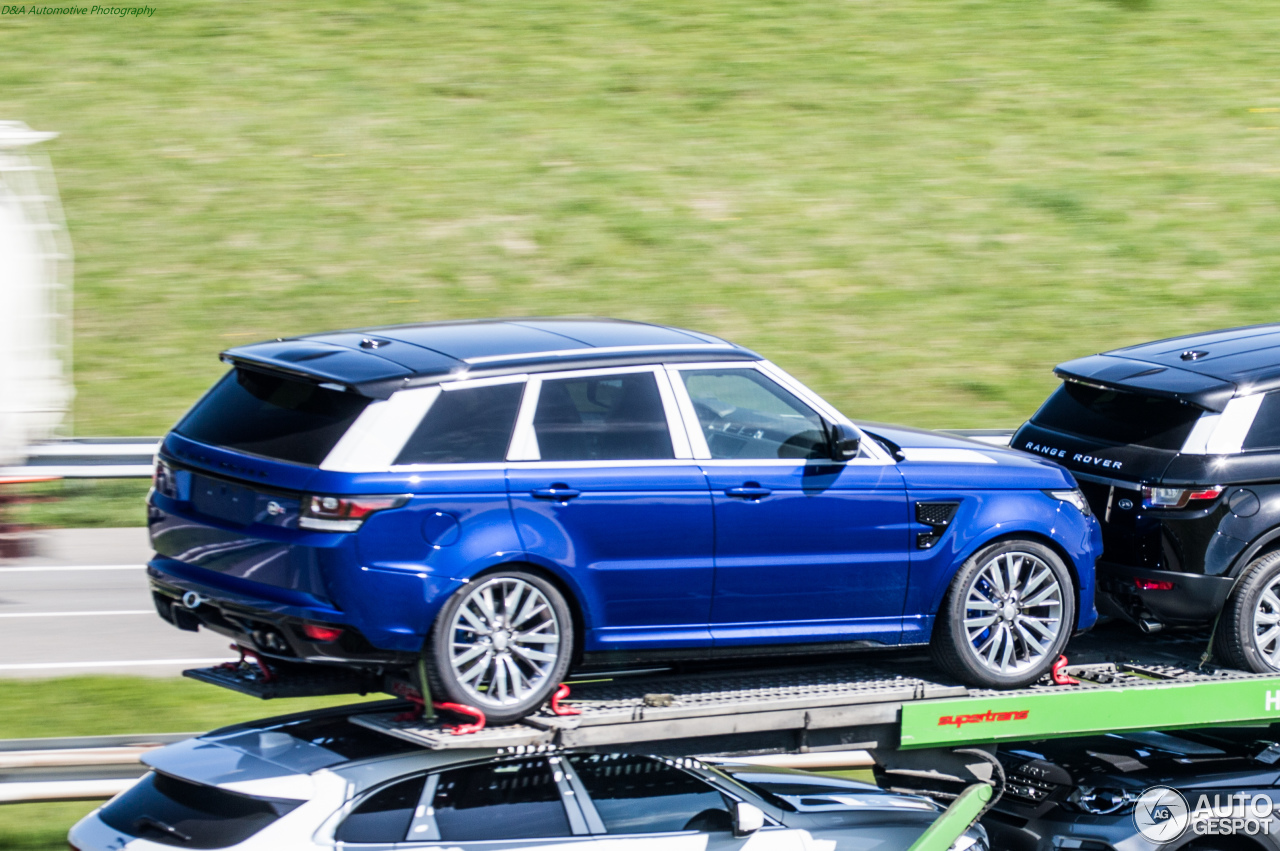 land rover range rover sport svr 22 avril 2016 autogespot. Black Bedroom Furniture Sets. Home Design Ideas