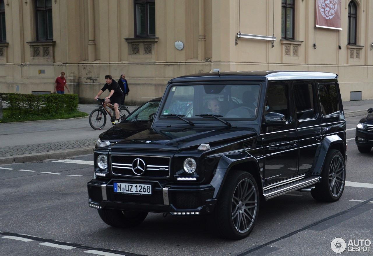 Mercedes Benz Brabus G 63 Amg B63 620 22 April 2016
