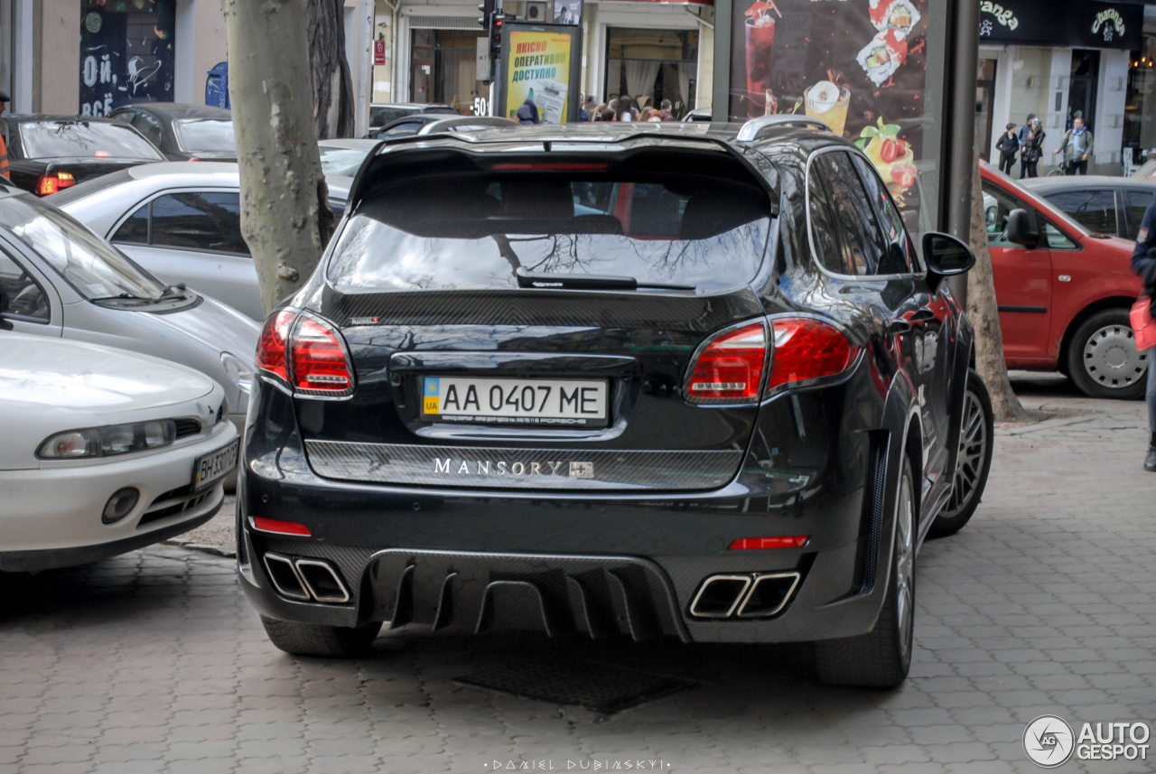 porsche mansory 958 cayenne 22 april 2016 autogespot. Black Bedroom Furniture Sets. Home Design Ideas