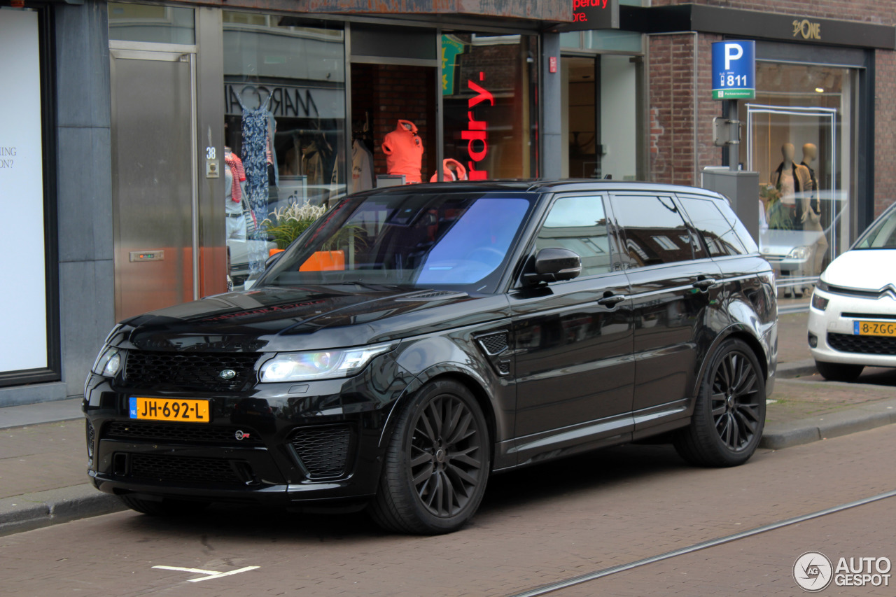 land rover range rover sport svr 23 avril 2016 autogespot. Black Bedroom Furniture Sets. Home Design Ideas