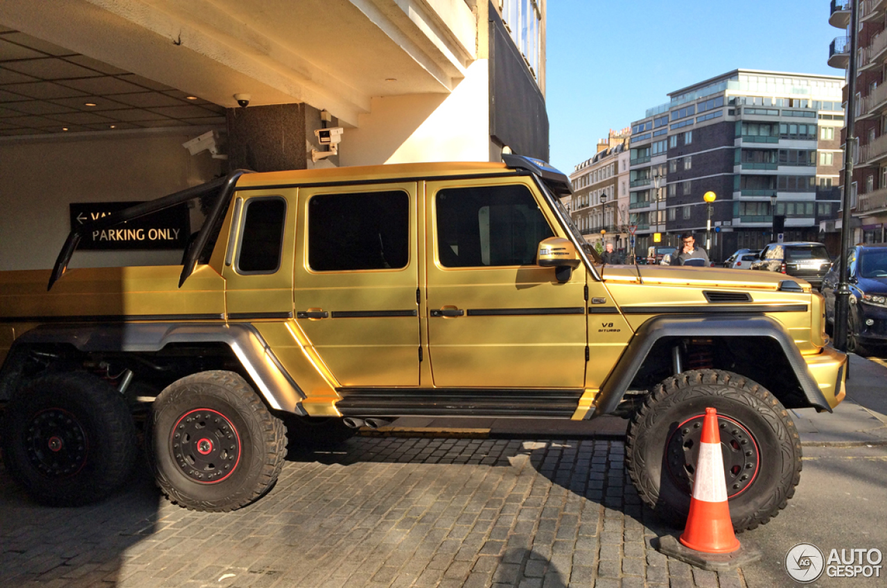 MercedesBenz G 63 AMG 6x6  25 April 2016  Autogespot