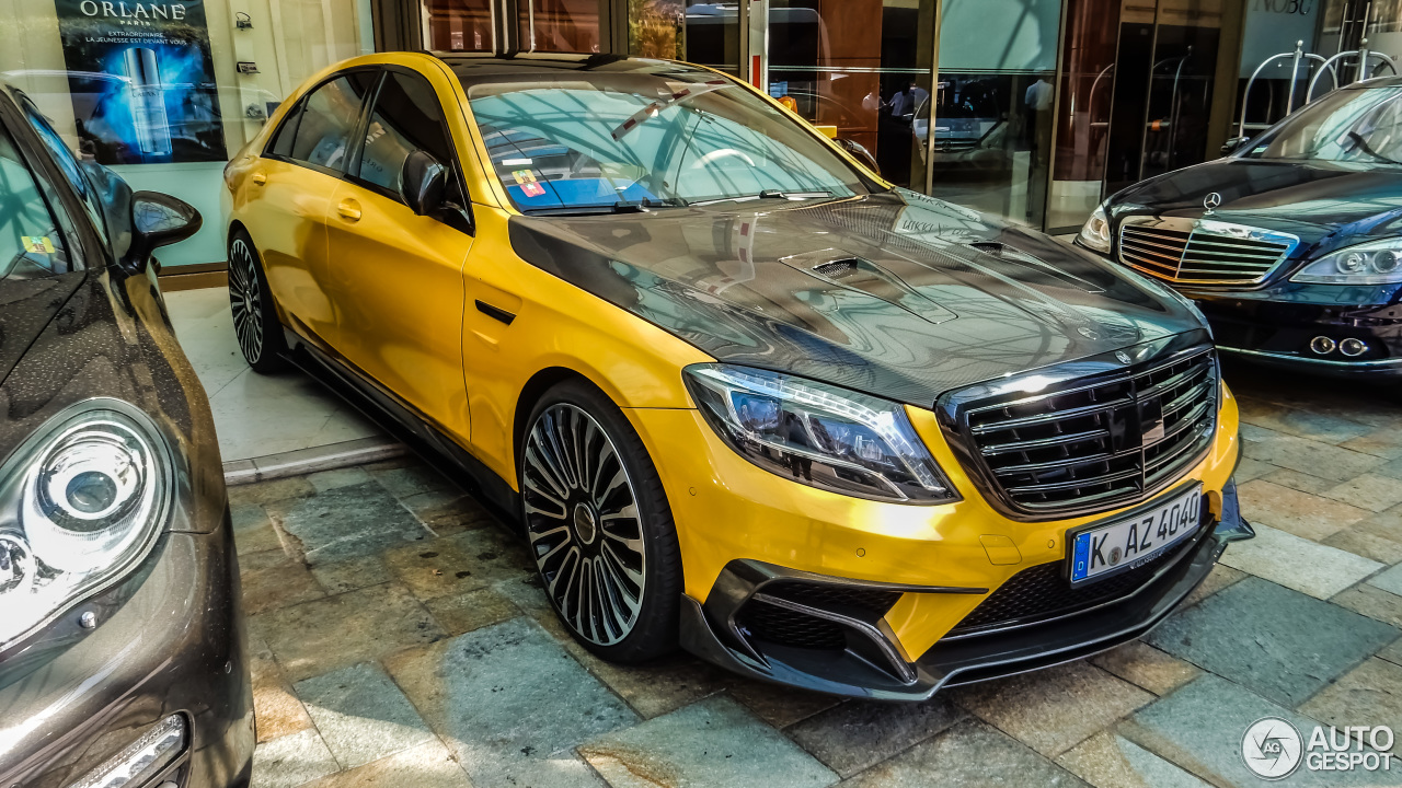 Mercedes Benz Mansory S63 Amg W222 25 April 2016 Autogespot