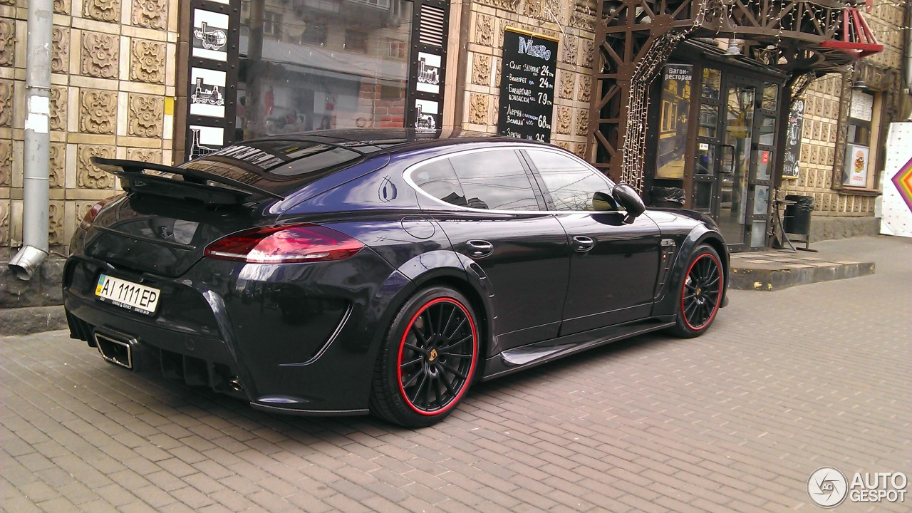 Porsche Mansory Panamera Turbo Mkii 25 April 2016