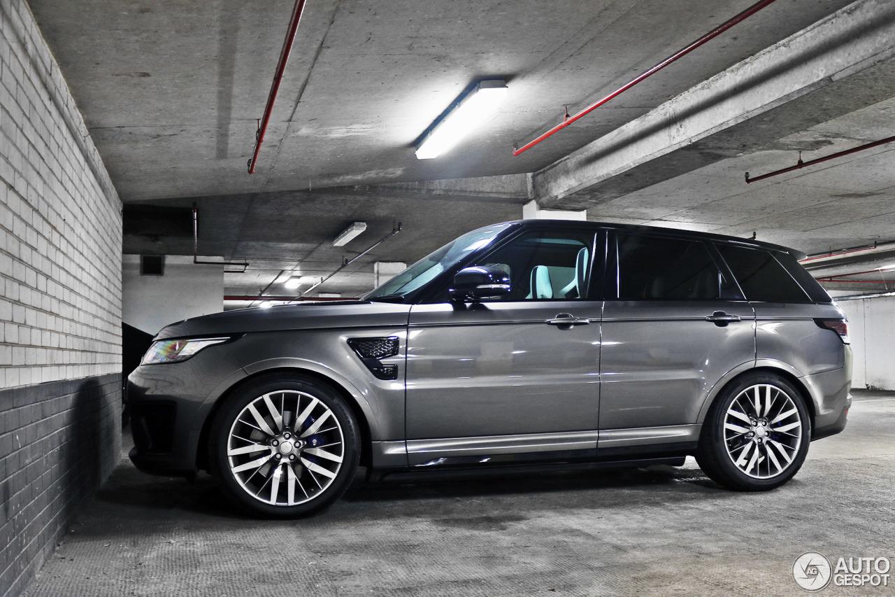Land Rover Range Rover Sport Svr 27 April 2016 Autogespot