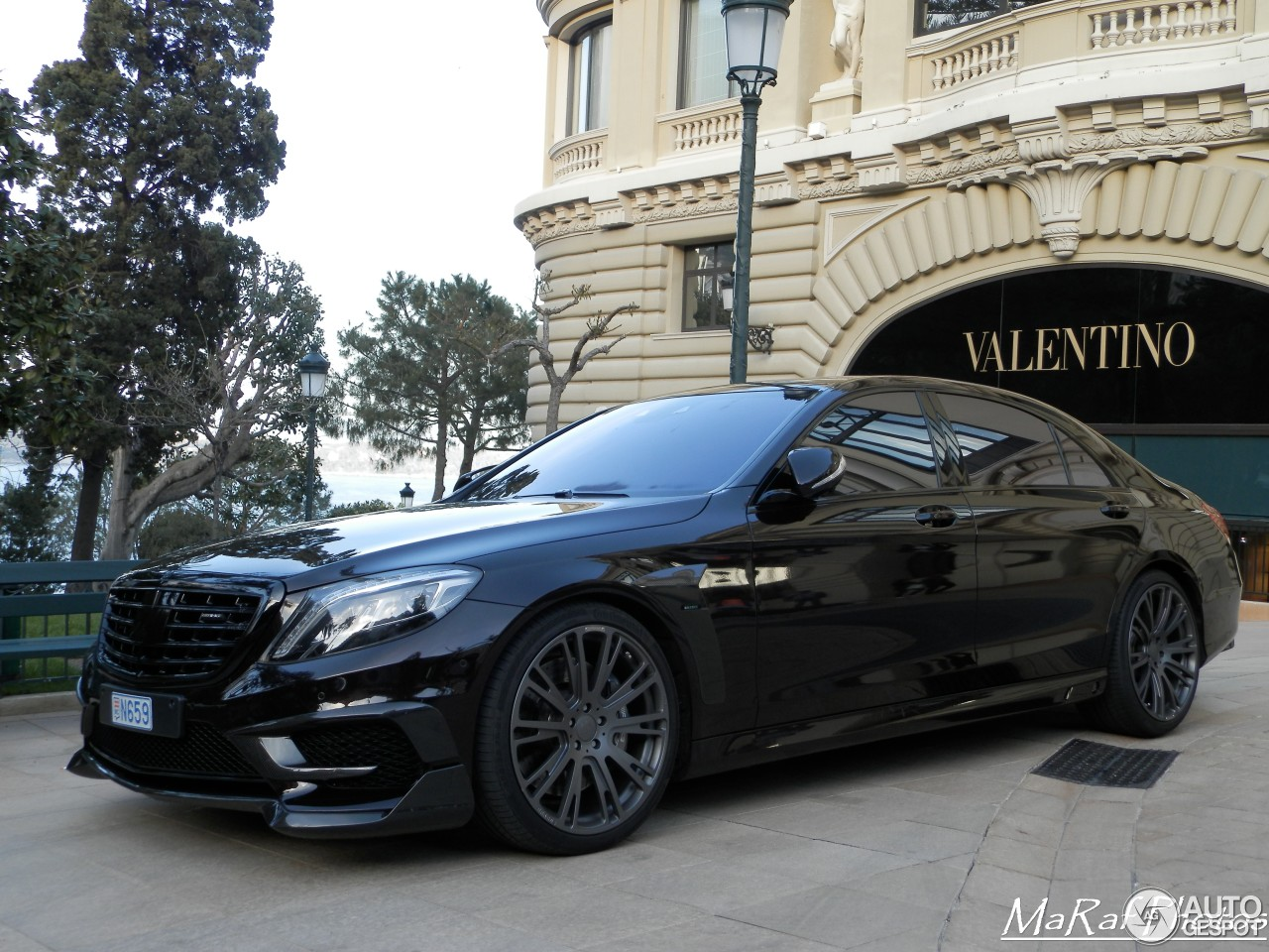 Mercedes Benz Brabus S B63 650 V222 27 April 2016